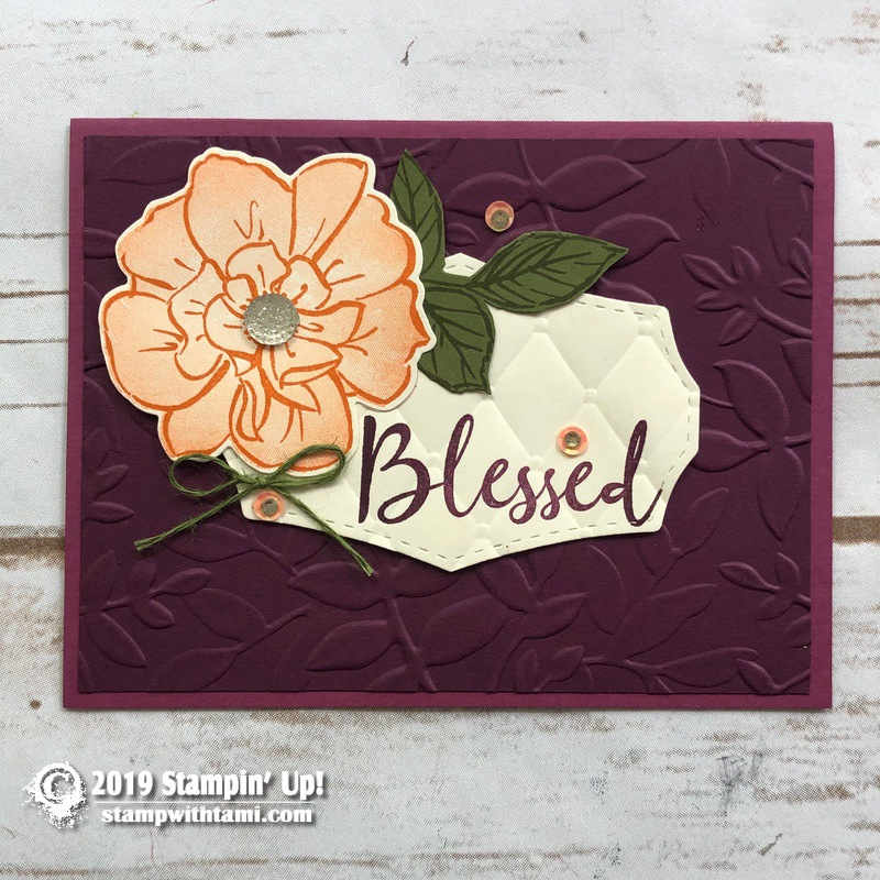 The 2019-20 Stampin Up Annual Catalog is here plus over 60 ideas