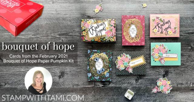 February Paper Pumpkin kit