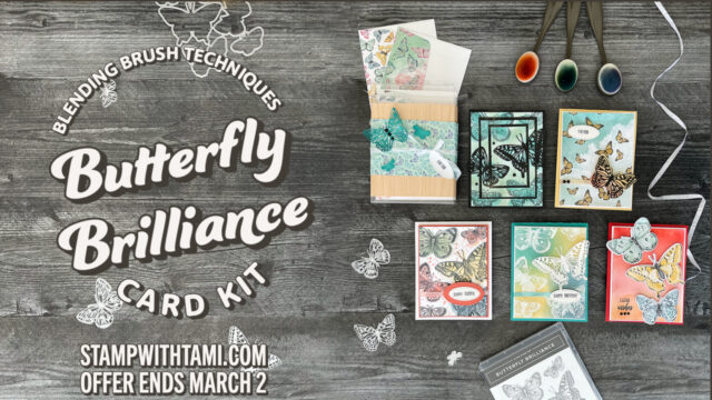 Butterfly Brilliance Blending Brush Technique Kits