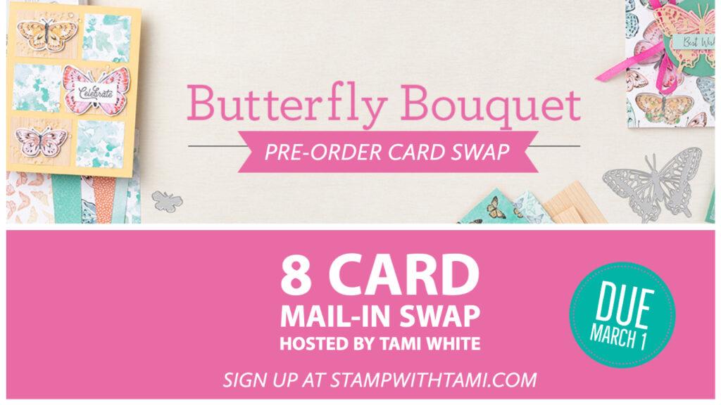 Butterfly Bouquet Card Swap