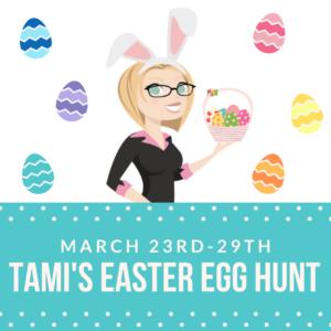 tami's easter egg hunt