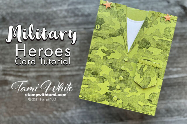 Military Hero Card