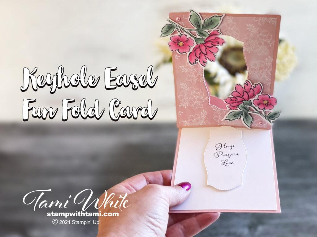 Make an Easel Keyhole Card Tutorial