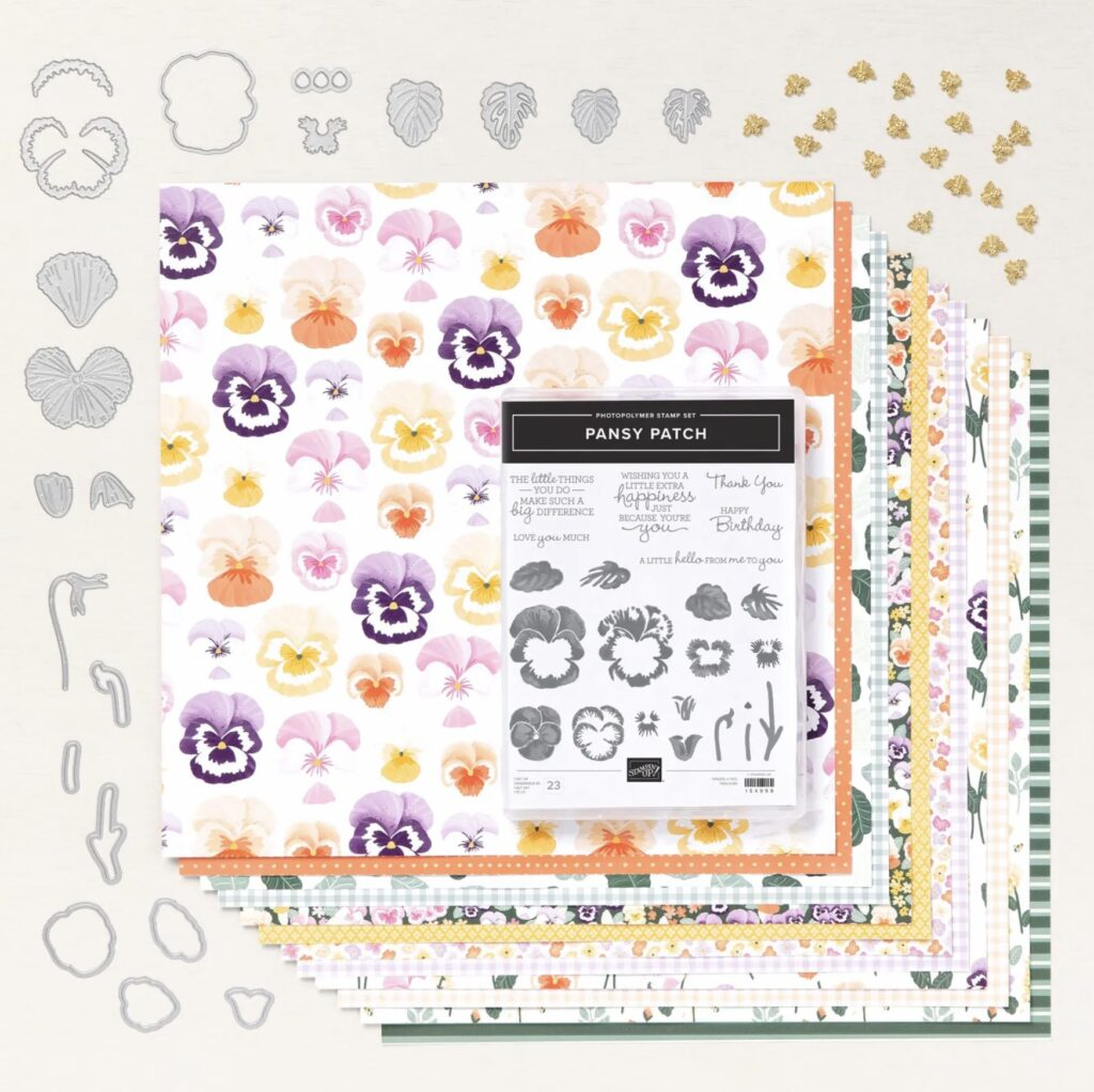 Pansy Patch Card