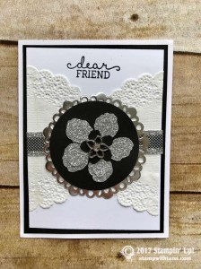 Stampin Up Botanical Blooms Stamp set