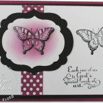 "VIDEO: Poppin' Butterfly ""Work of Art"" Card"