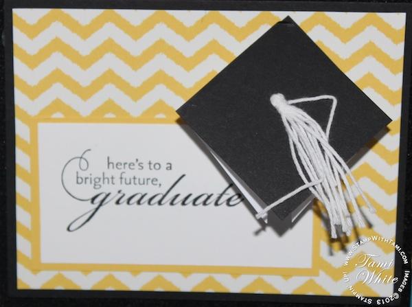 card  graduation cap and tassle