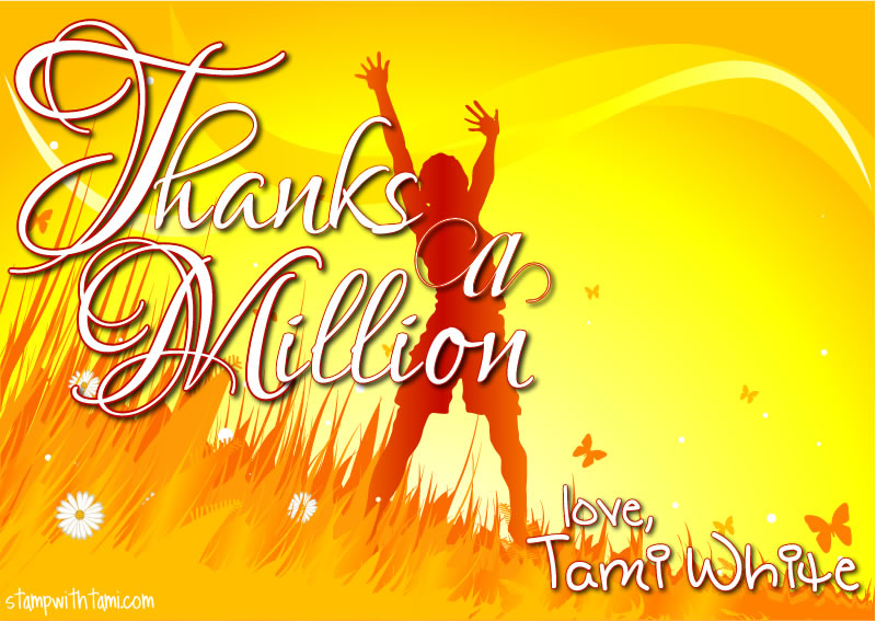 thanks a million-tami white-stampin up