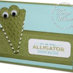 VIDEO: Stinkin Cute See Ya Later Alligator Card