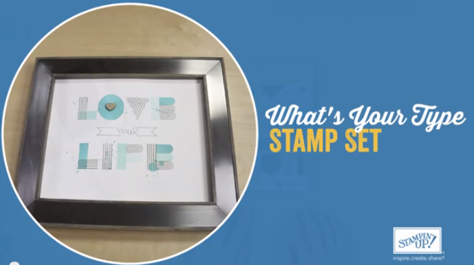 stampin up whats your type