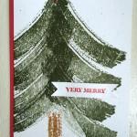 CARD: Work of Art Christmas card