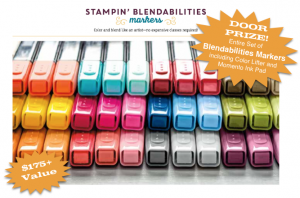 blendabilities fundraiser door prize stampin up