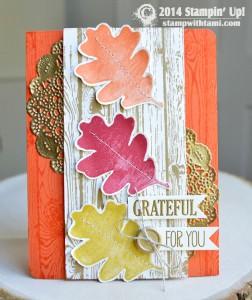 grateful for you stampin up blog hop