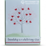 OCCASIONS: Friendship is a Sheltering Tree Valentine