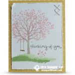 OCCASIONS: Thinking of You Sheltering Tree Card