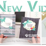 VIDEOS: 3 New Coloring Video Tutorials from Stampin Up