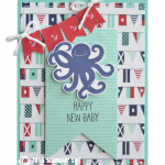 CARD: Sea Street New Baby Octopus card