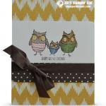 CARD: Adorbs Owl Card from Retiring Baby We've Grown