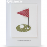 stampin up golf card