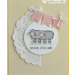 CARD: Welcome Little Lamb Baby Card