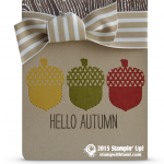 CARD: Hello Autumn from Cheer All Year