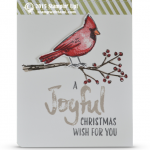 CARD: Joyful Season Christmas Cardinal