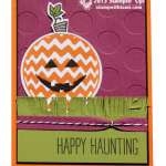 CARD: Sparkly Seasons Jack-o-Lantern