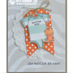 CARD: Baby, The World Just Got Cuter – baby card