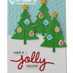 CARD: Holly Jolly Pine Trees – Part III