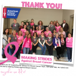 NEWS: Breast Cancer Fundraiser Update & Winners Announced