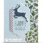 CARD: Joy to the World Christmas Card Idea