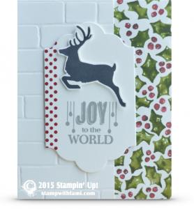 stampin up jolly christmas card idea