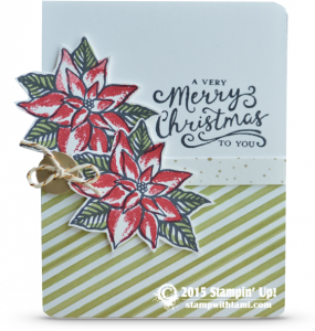 stampin up reason for the season christmas card idea
