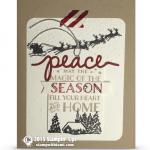 CARD: Cozy Christmas Card from Sara Douglas
