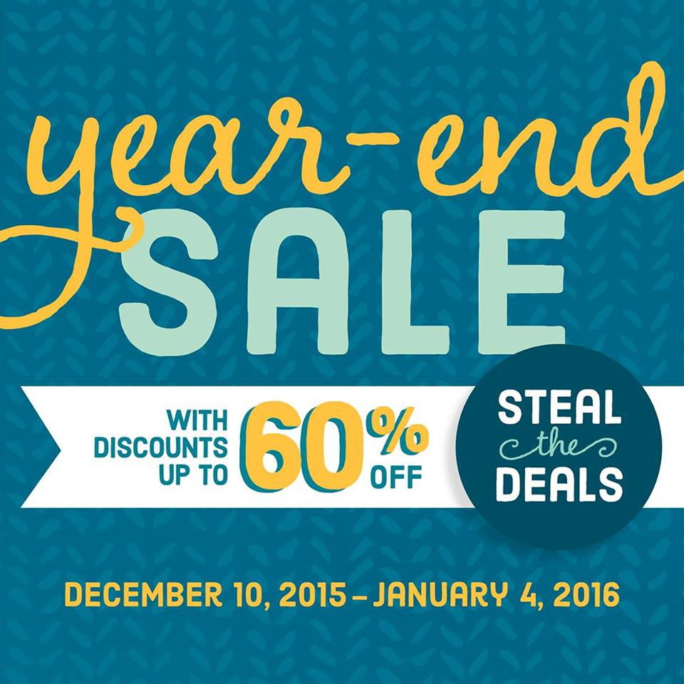 Stampin up year end sale