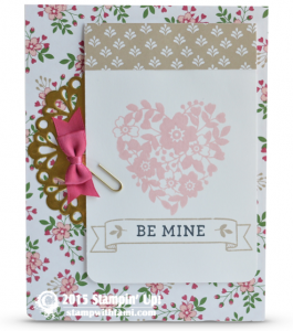 stampin up bloomin with love 1