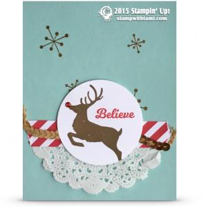 stampin up jolly christmas card