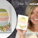 VIDEO: How to make a Work of Art Easter Egg Card