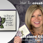 VIDEO: How to create this Stained Glass Easter Rose Technique