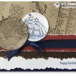 CARD: Retiring Open Sea Masculine Birthday Card