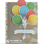 CARD: Fun Congratulations with the Celebration Balloons
