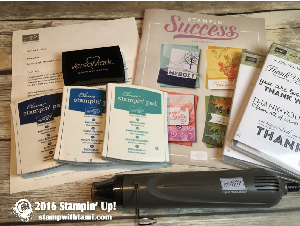 stampin up copying a card from stampin success magazine