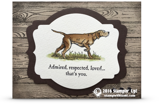 stampin up in the wilderness card