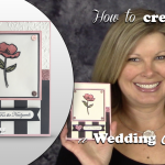 BLOG HOP & VIDEO: Shimmery Wedding Card Wow