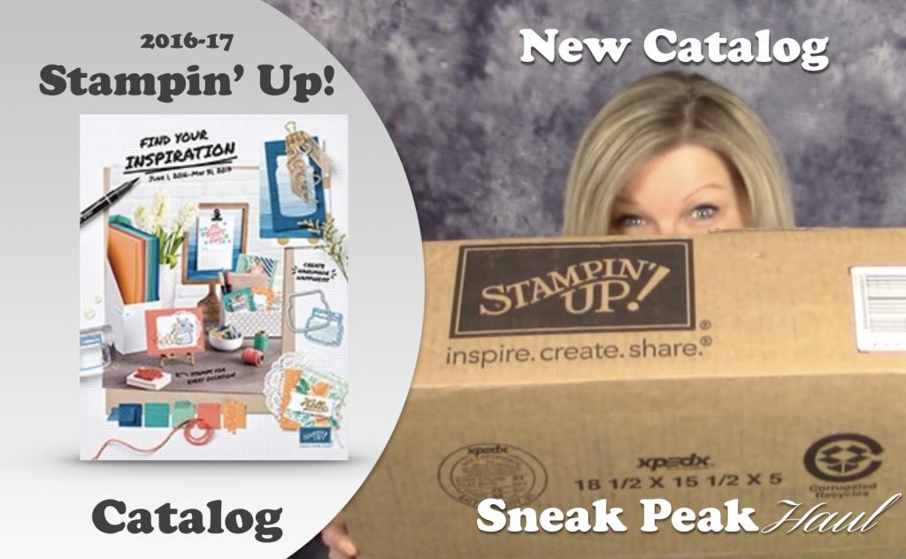 stampin up new catalog haul pre-order sneak peak