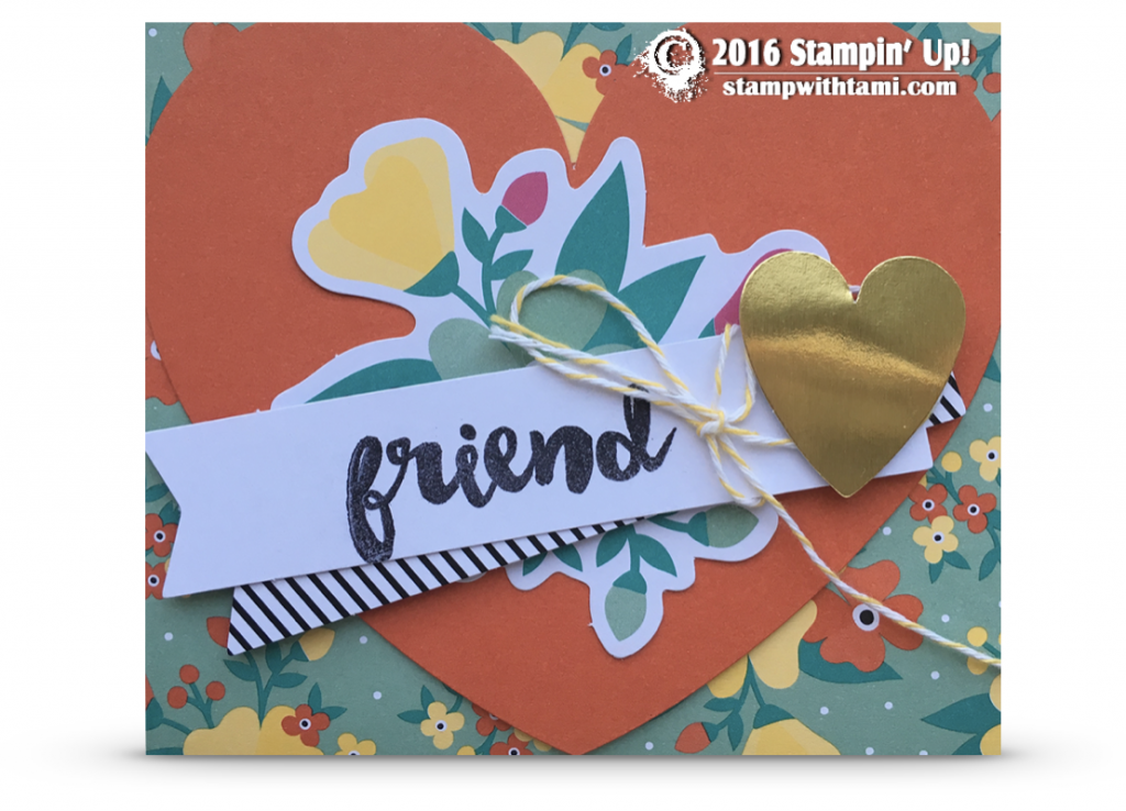 stmapin up oh happy day kit card