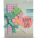 CARD: Gorgeous Happy Day Flowers Card