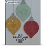 CARD: Christmas Ornaments from the Christmas Pines