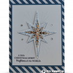 Happy World Card Making Day with a Star of Light WOW Card