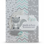 CARD: Peek-a-Boo to someone new fox baby card